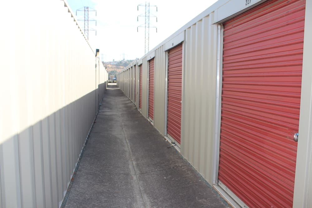 First Rate Storage self storage units in San Leandro