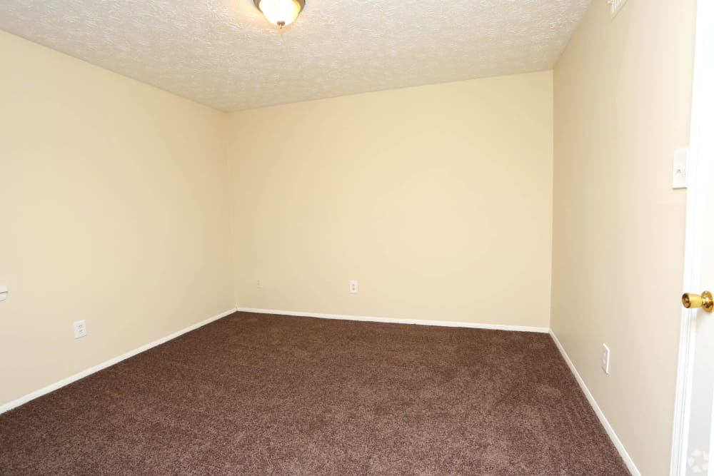 Our apartments in Lexington, Kentucky showcase a spacious bedroom