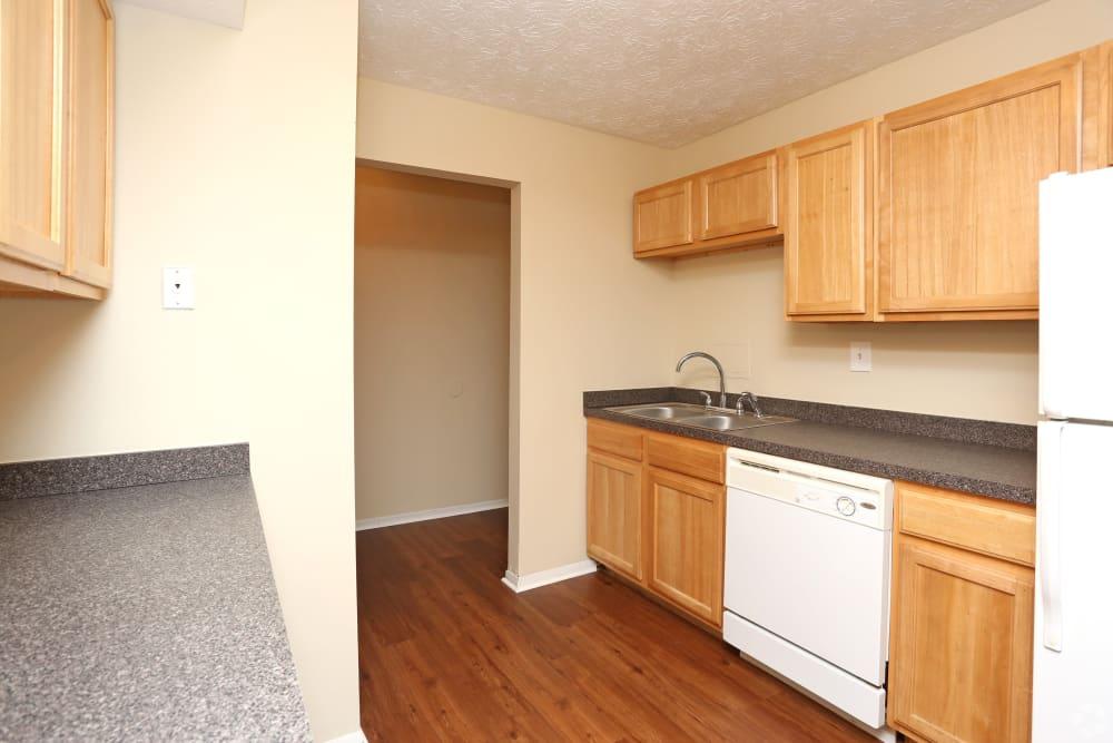 Spacious kitchen at Abigail Gardens Apartments
