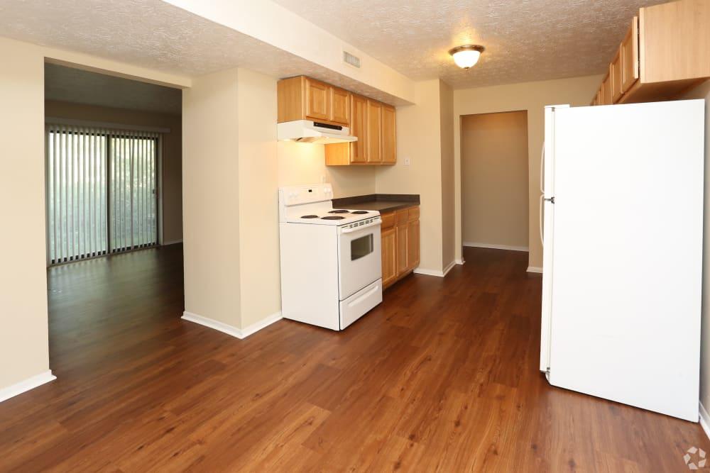 Enjoy apartments with a spacious kitchen at Abigail Gardens Apartments