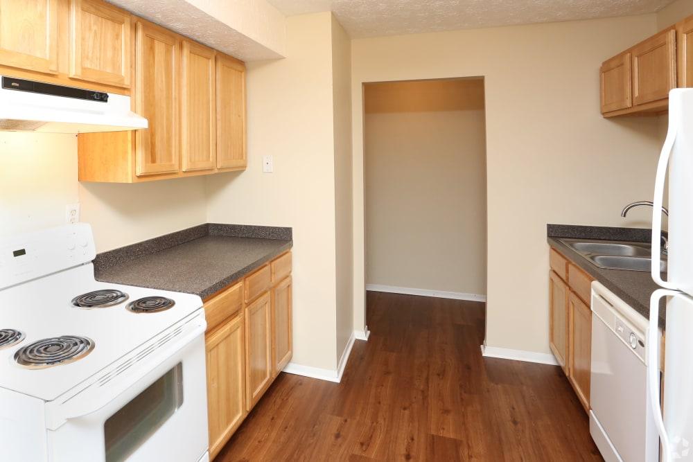 Our apartments in Lexington, Kentucky showcase a spacious kitchen