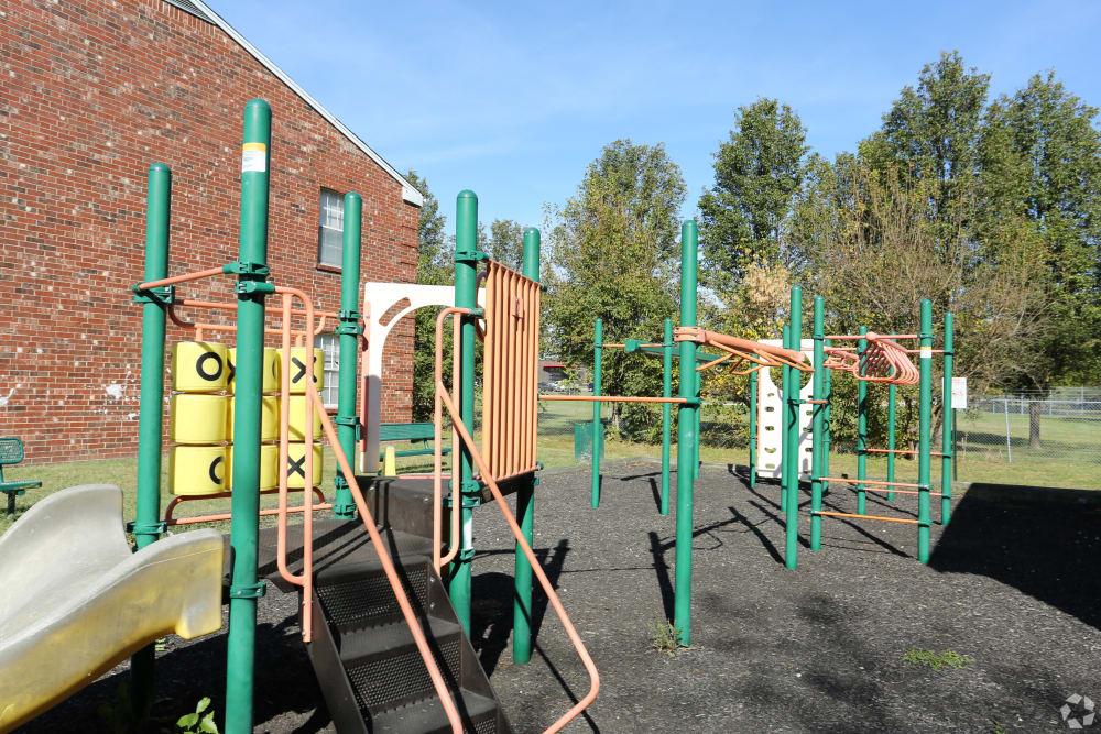 King George Apartments offers a playground in Louisville, Kentucky