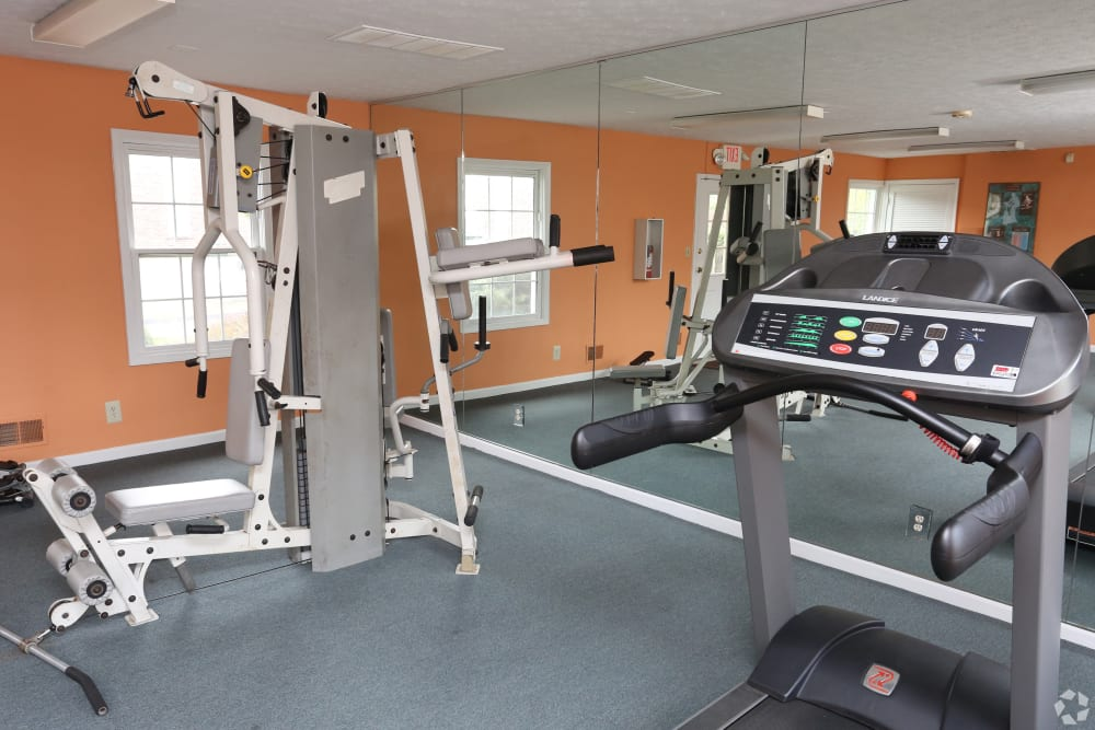 Our apartments in Louisville, Kentucky showcase a luxury fitness center