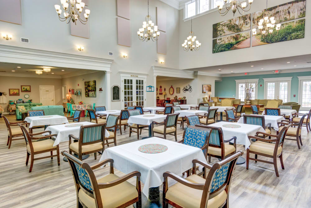 Chef-prepared meals are included at St. Augustine Plantation