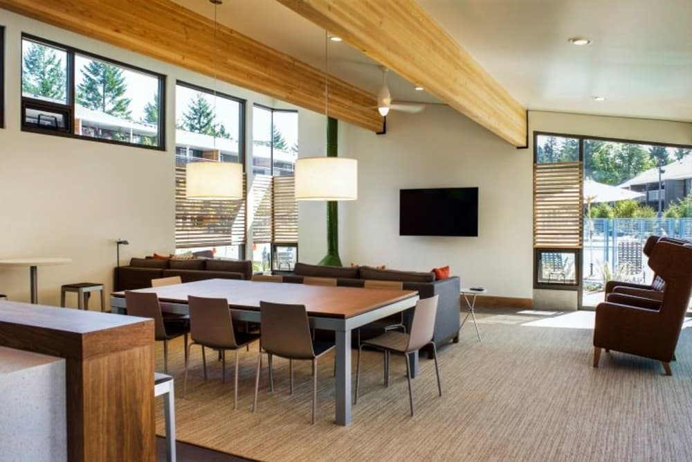 Clubhouse at Cedar Hills Apartments in Portland, Oregon