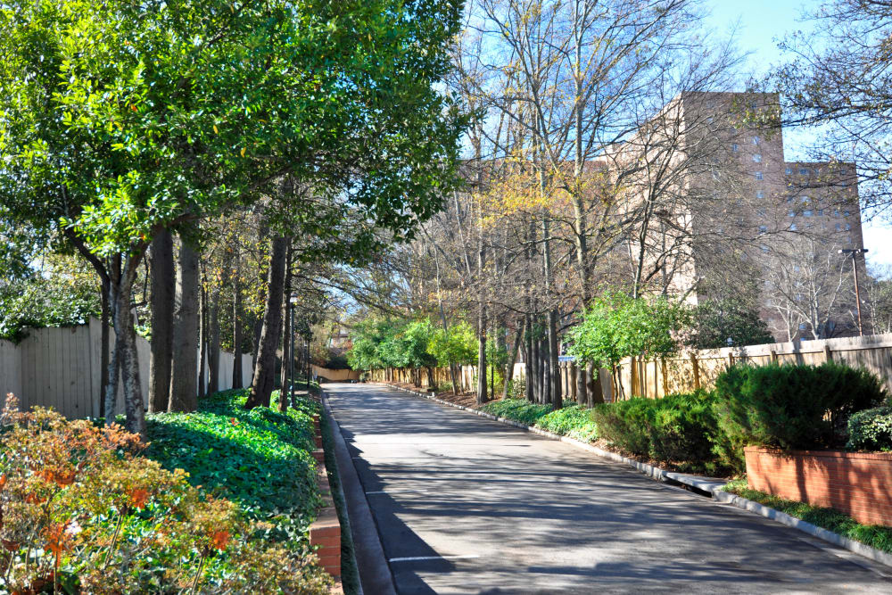 Exterior view of the Brookwood Valley community in Atlanta