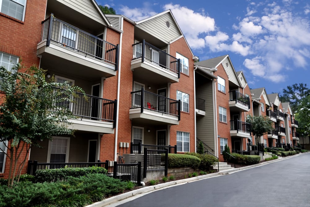 Apartment buildings at Brookwood Valley