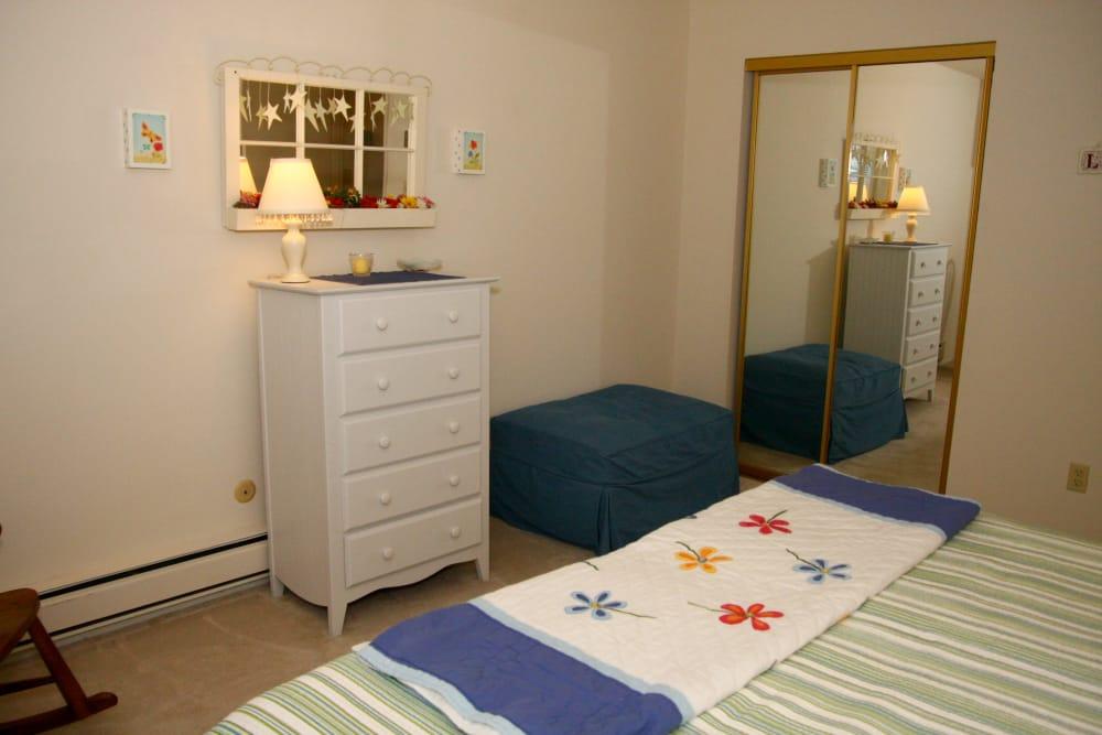 Bedroom furniture at Brinley Manor