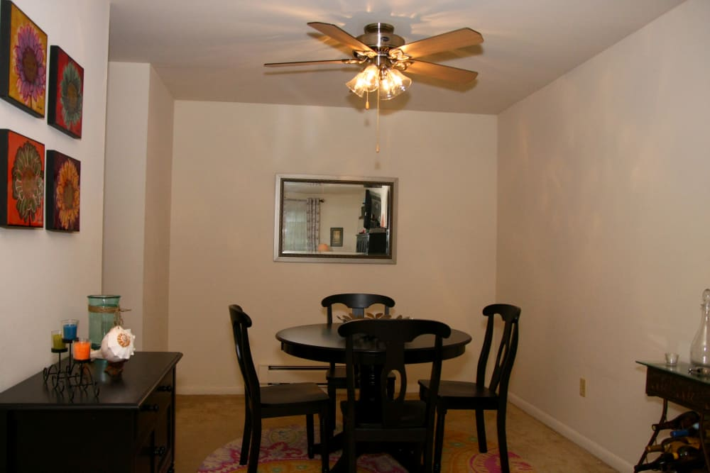Dining room at Brinley Manor in Bradley Beach, New Jersey