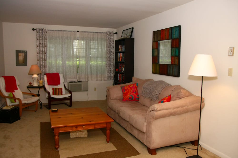 Another view of living room at Brinley Manor