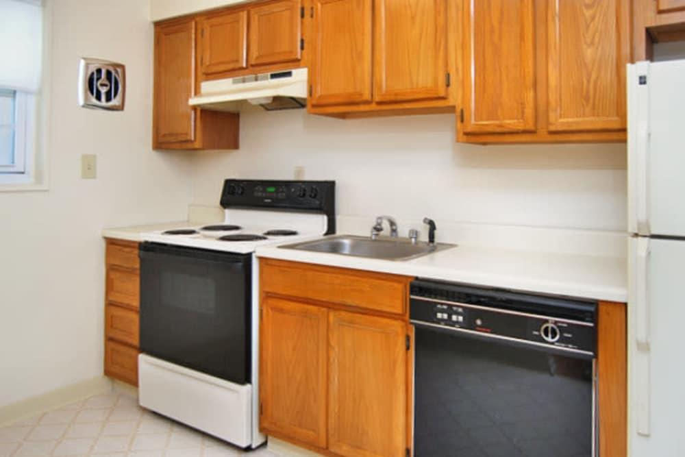Beautiful kitchen at The Manor at Spring Lake