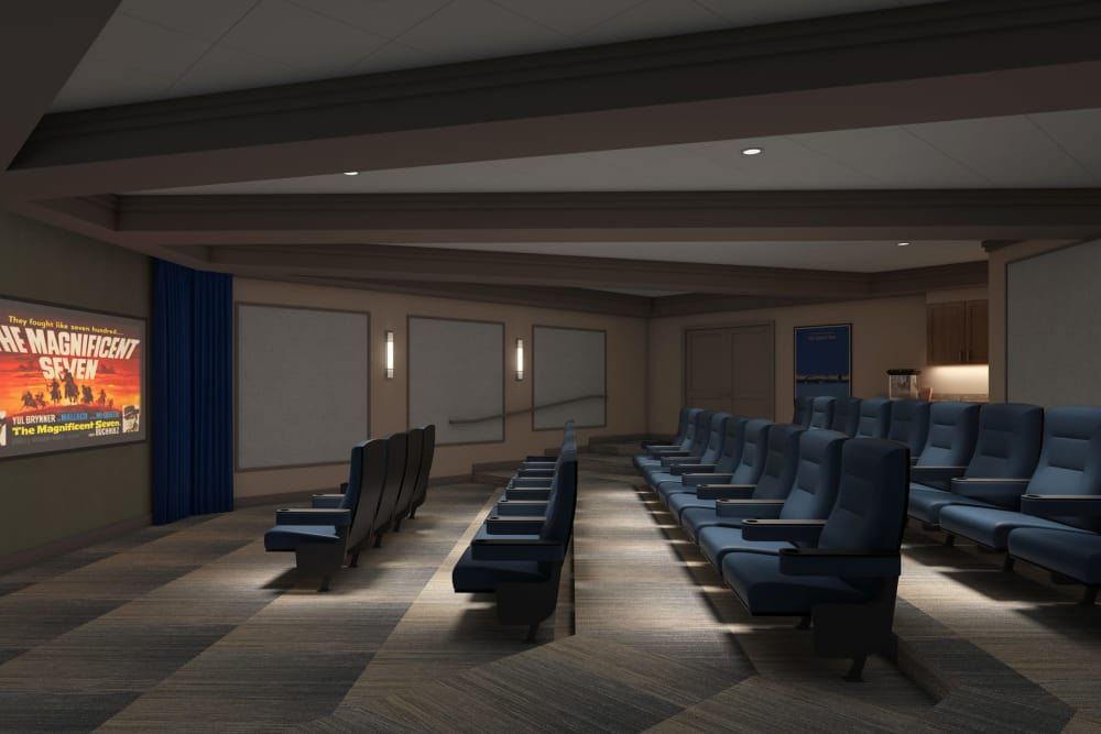 Movie theater at Discovery Village At Sandhill