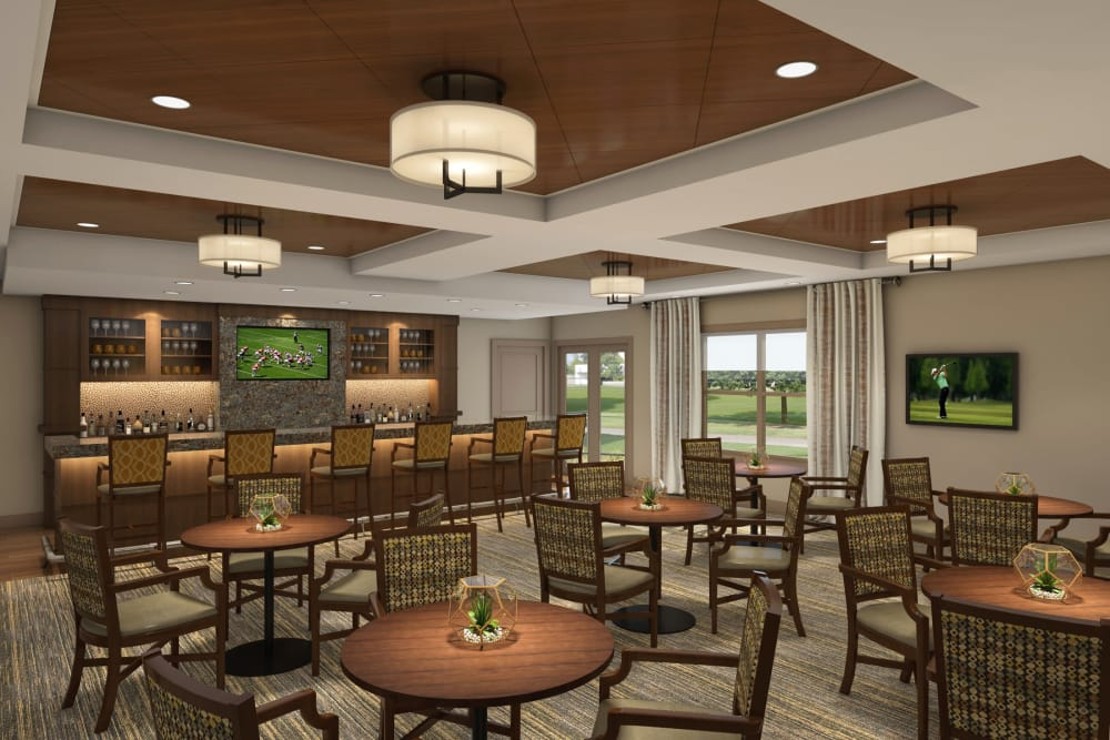 Sports bar at Discovery Village At Sandhill