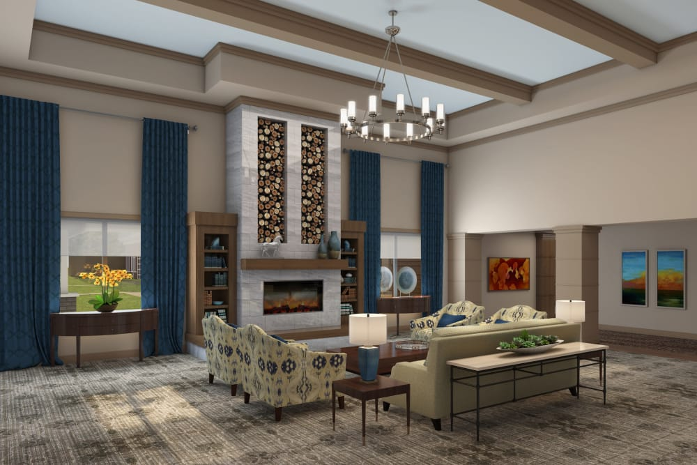Living room at Discovery Village At Sandhill