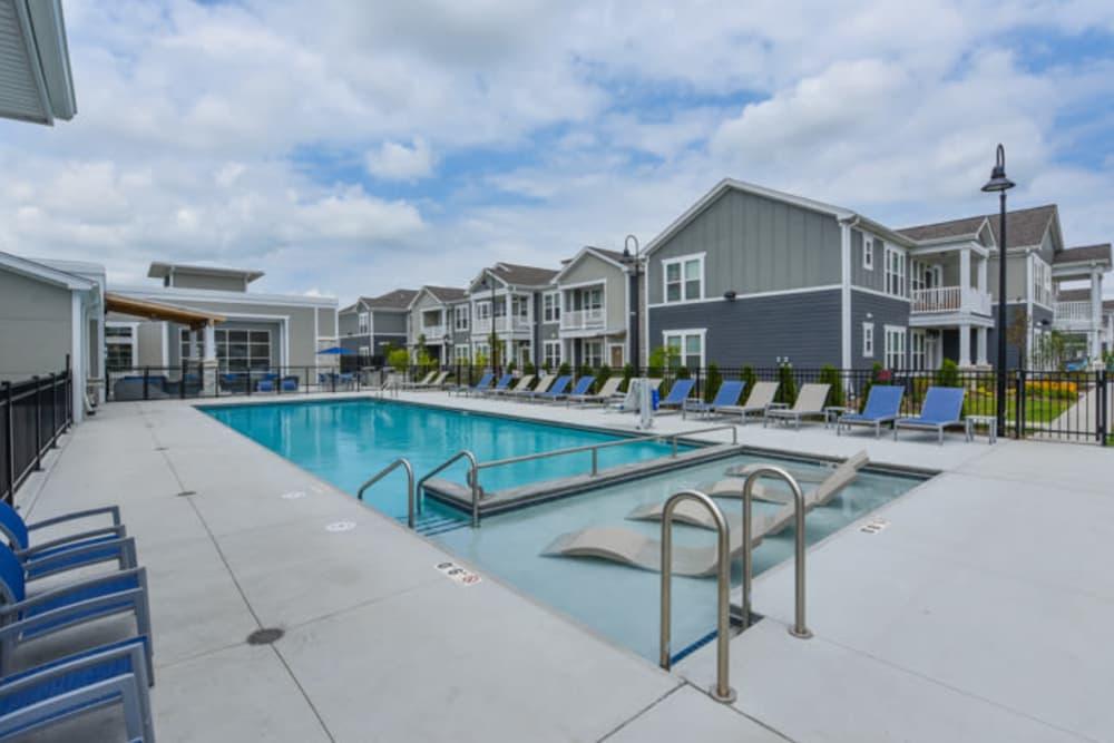 Resort Style Pool at Springs at South Elgin in South Elgin