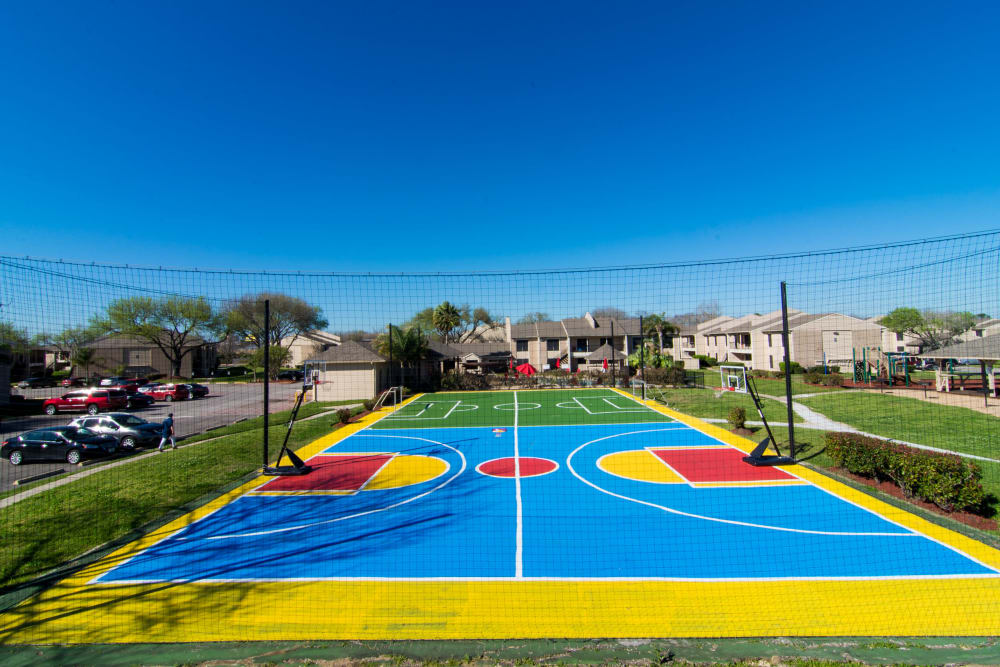 Sport court at Reserve on Garth Rd