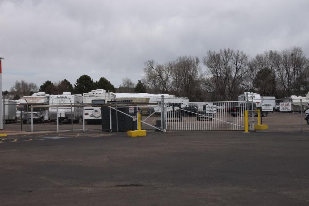 RV storage at AAA Platte Self Storage in Colorado Springs, CO
