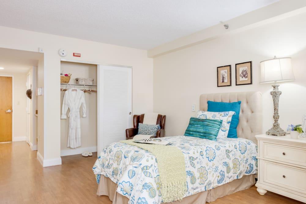 Bedroom model at Grand Villa of Boynton Beach in Florida
