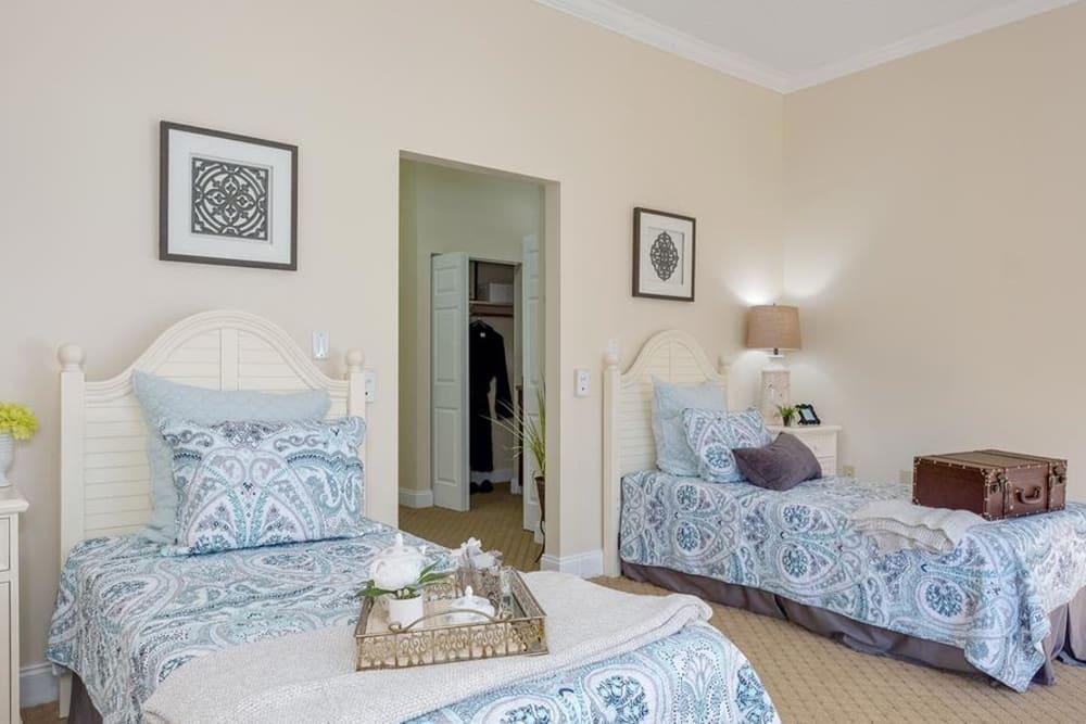Bedroom model at Grand Villa of Deerfield Beach in Florida