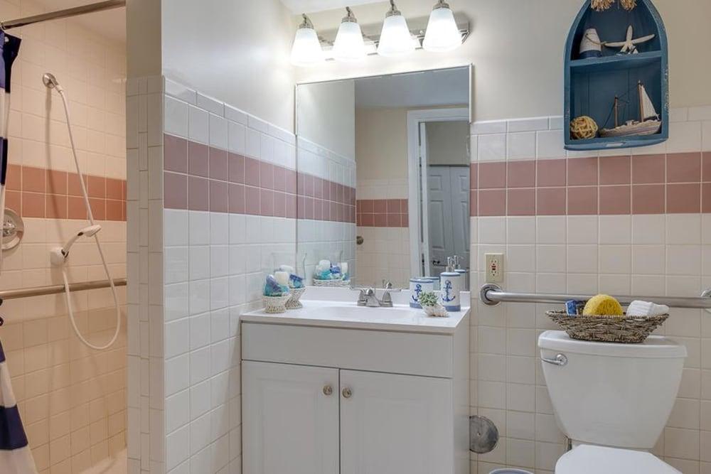 Bathroom model at Grand Villa of Deerfield Beach in Florida