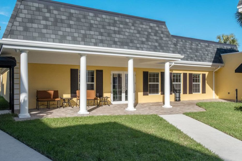 Suite entrance at Grand Villa of Delray West in Florida