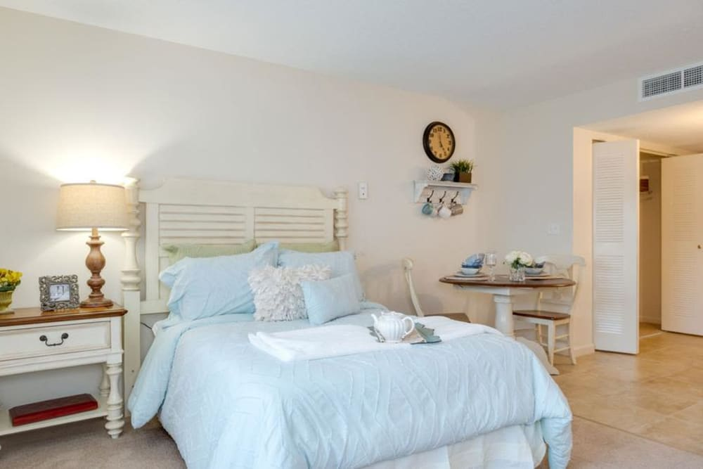 Bedroom layout at Grand Villa of Delray West in Florida