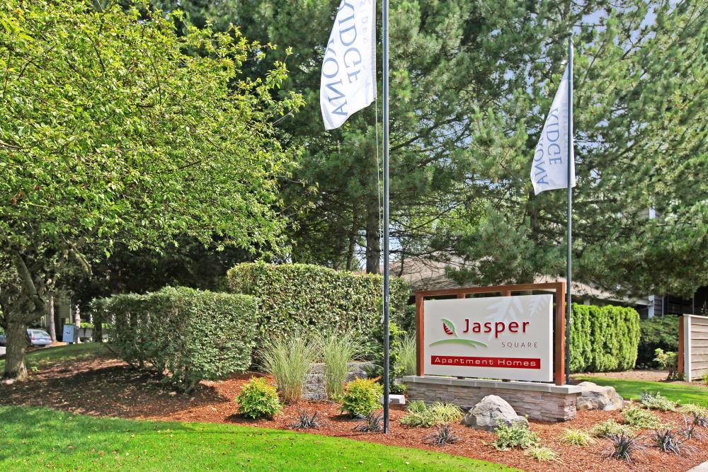 Jasper Square Apartment Homes entry in Beaverton, OR