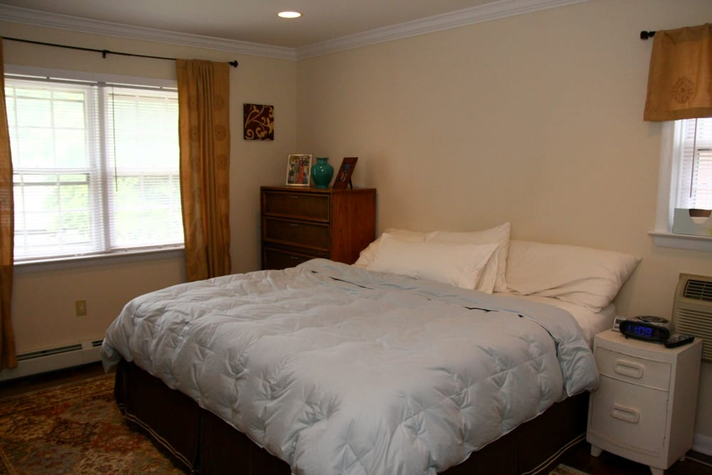 Another bedroom model at Cedar Village in Cedar Grove, NJ