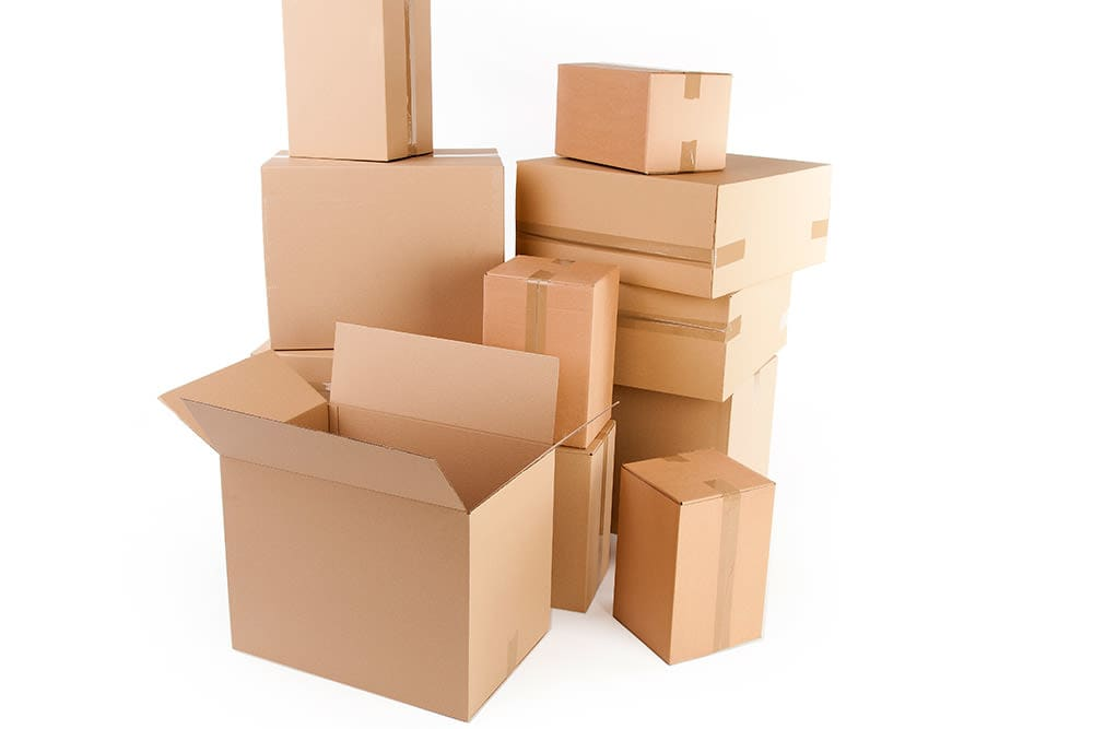 Get your moving boxes at Capital Self Storage in Harrisburg, PA