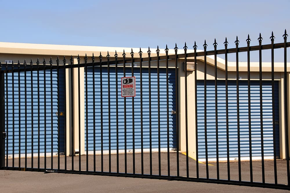 Security Fence at Prime Storage in Westville, New Jersey