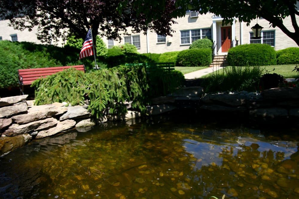 Small pond at Cloverdale Associates
