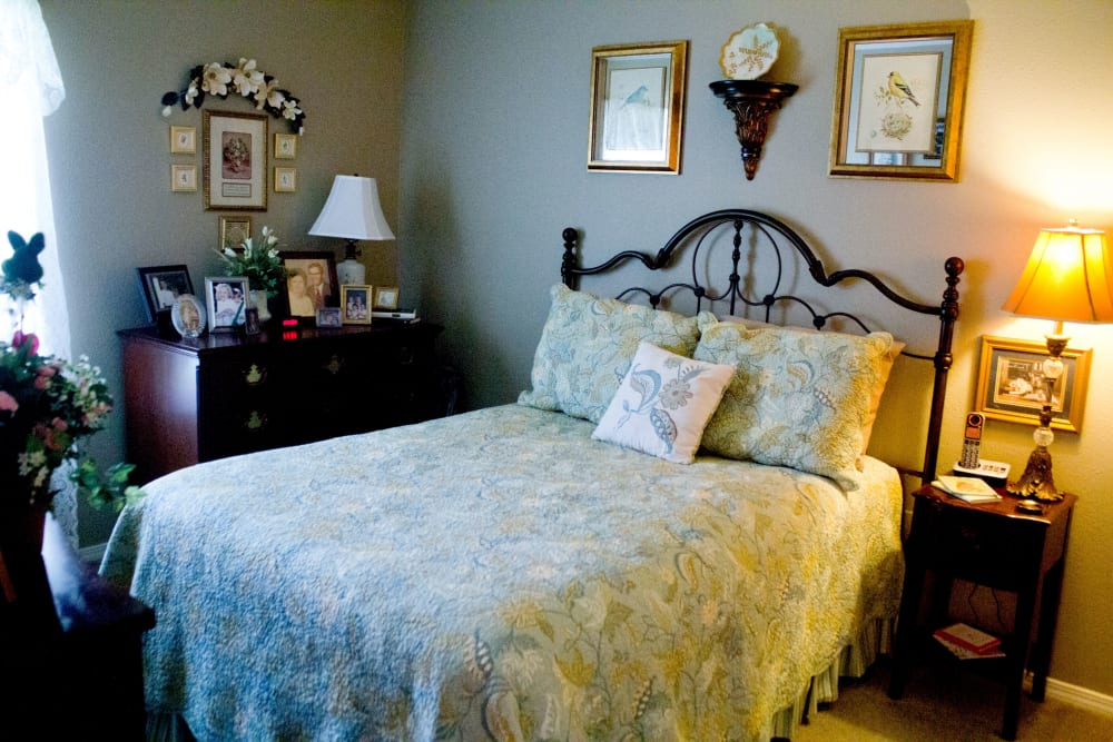 Beautiful bedroom at Azalea Estates of Gonzales in Gonzales, LA
