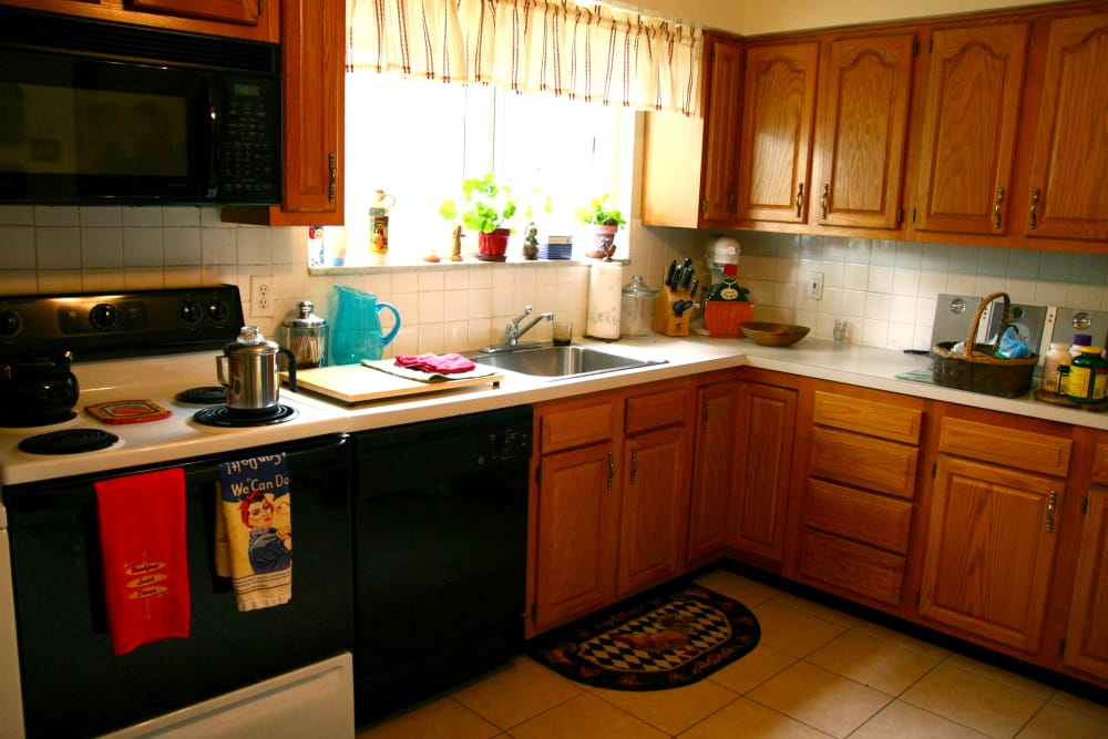 Spacious kitchen at Haddon Knolls Apartments in Haddon Heights, NJ