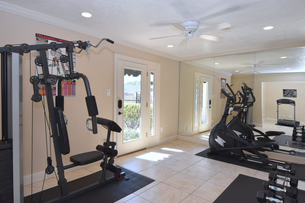 Waterchase Apartments fitness center