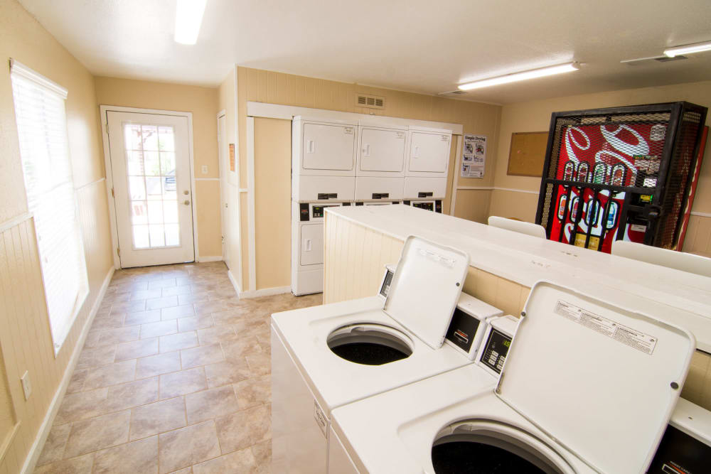 Bender Hollow Apartments laundry facility in Humble, Texas