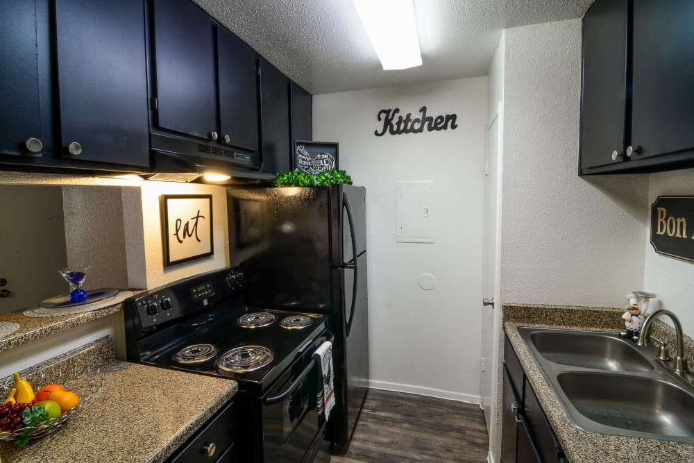 Beutiful kitchen at Bender Hollow Apartments in Humble, TX