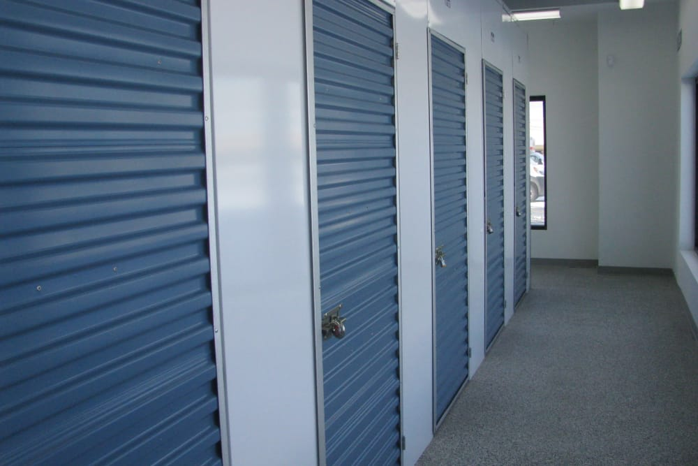 Interior view of units at A Better Self Storage South Academy