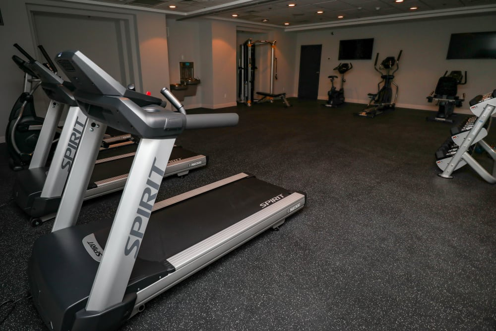 Fitness Center at Creekview Court Apartments in Getzville, NY