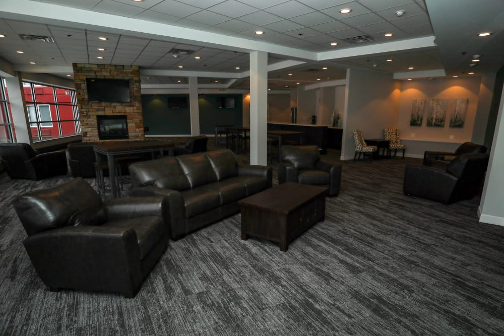 Clubroom at Creekview Court in Getzville, NY