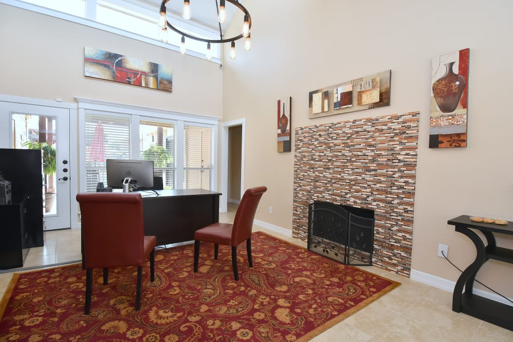 Apartments with a fireplace in Rosenberg, TX