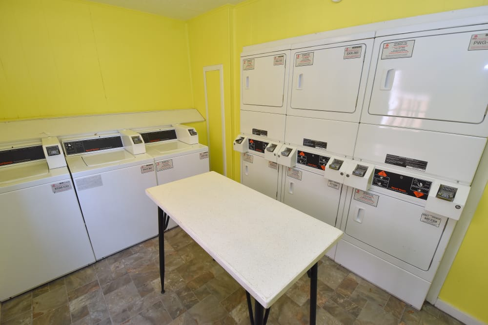 Washer & dryers at Brookmore Hollow Apartments in Rosenberg, Texas