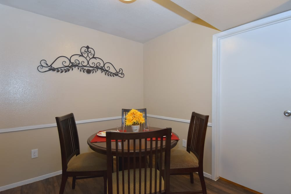 Beautiful dining room in Humble, Texas