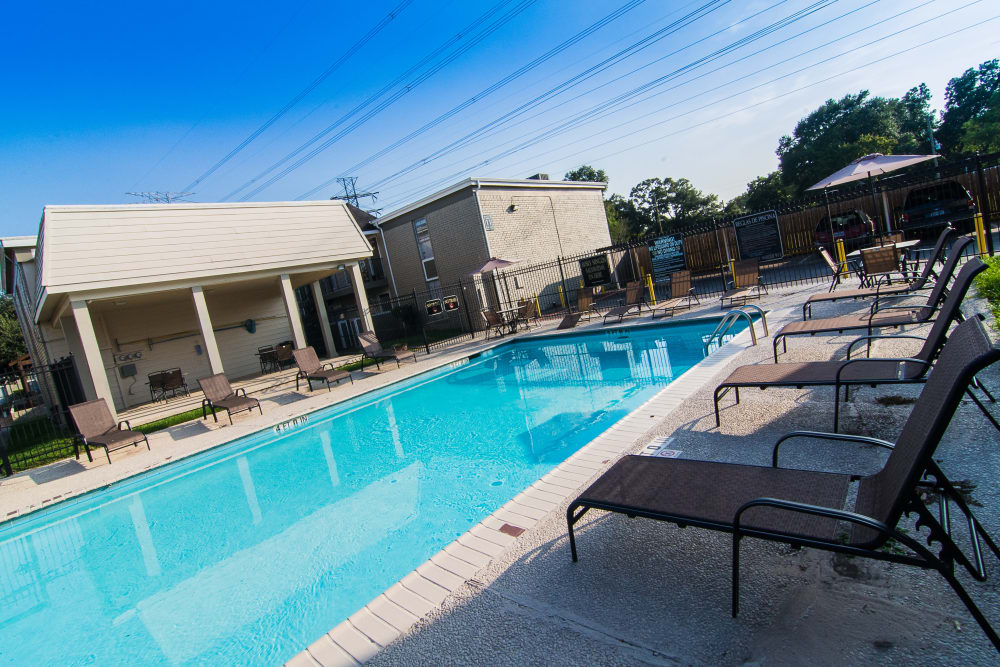 Northlake Manor Apartments pool in Humble, TX