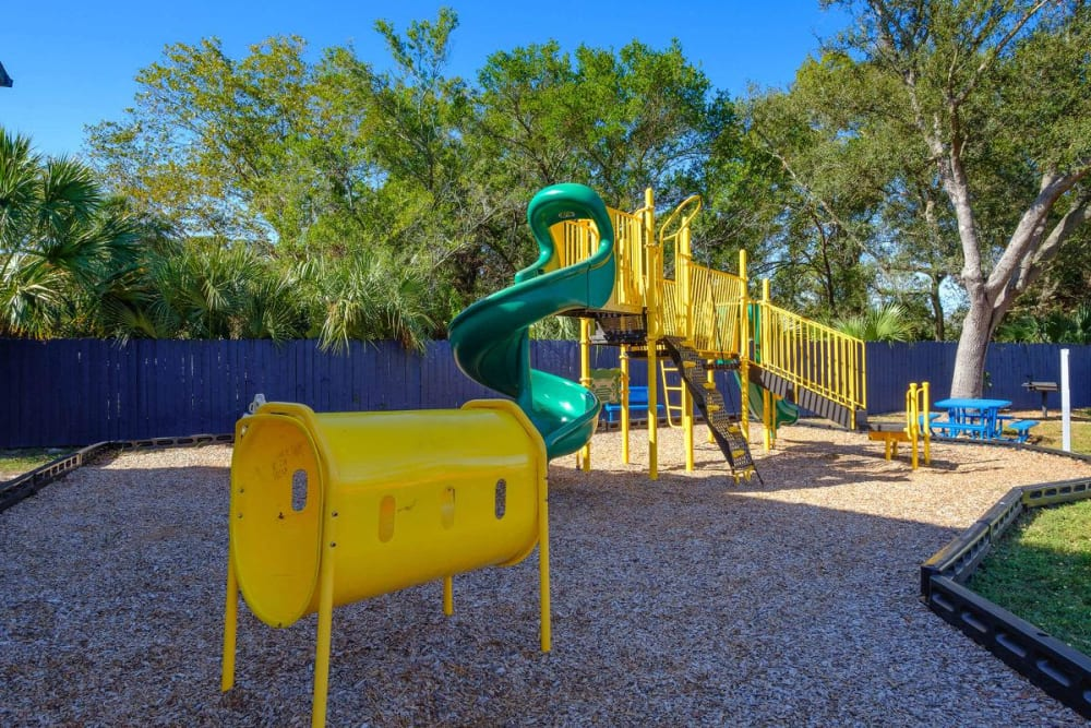Playground area at WestEnd At 76Ten in Tampa, Florida