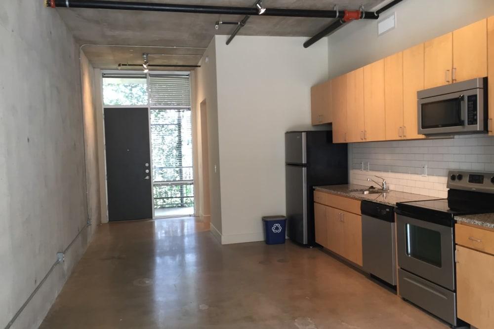 Kitchen at 1221 Broadway Lofts