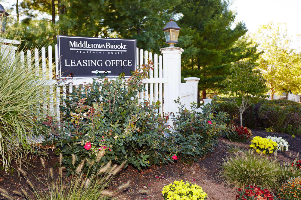 Middletown Brooke Apartment Homes leasing office in Middletown, Connecticut