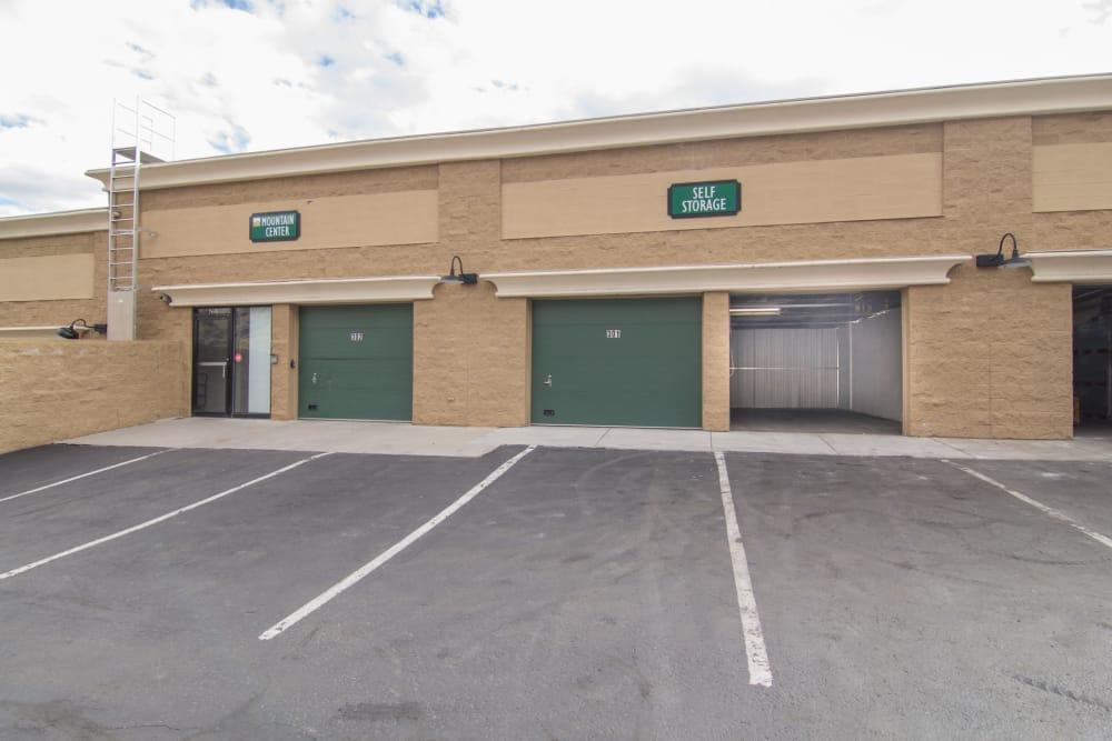 Prime Storage in Avon, Colorado has drive-up units