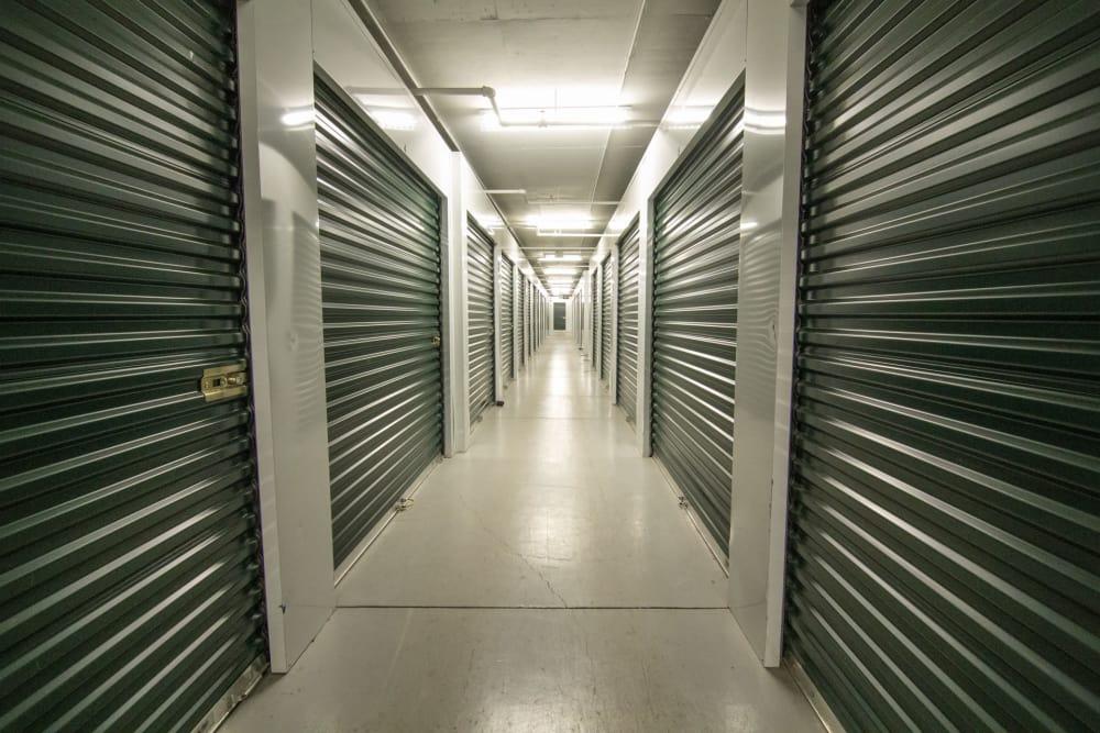Indoor storage at Prime Storage in Avon, Colorado