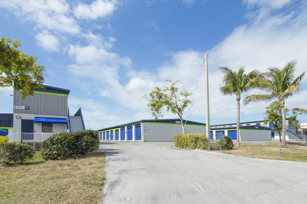 Prime Storage driveway in Marco Island, Florida