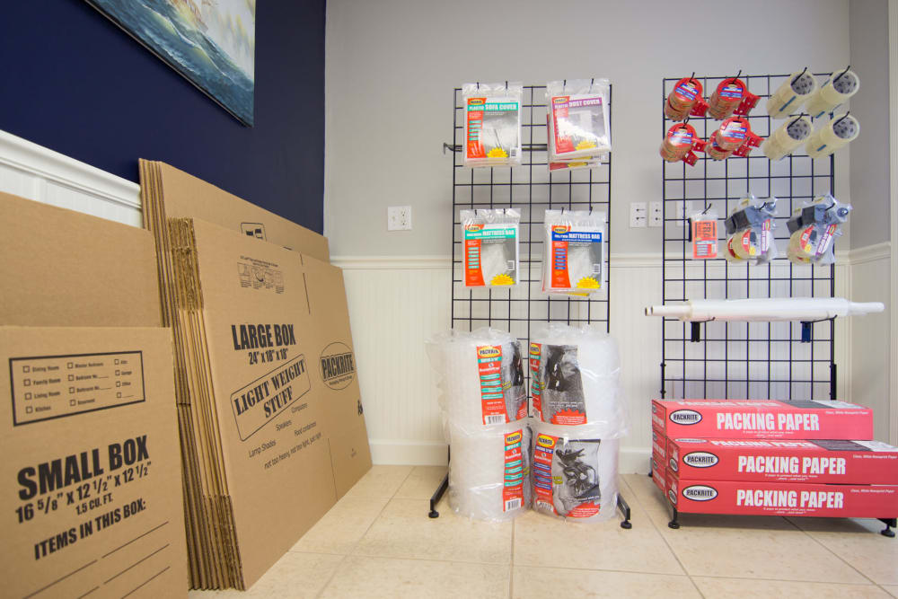 Prime Storage offers moving supplies in Marco Island, Florida